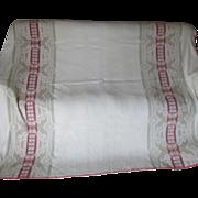 SALE PENDING Rare Antique Art Nouveau Blanket Bedspread