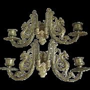 Pair Gothic Gargoyle Candle Sconces, Candlesticks