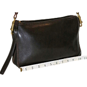 SALE 1970's Coach Convertible Clutch NYC Model