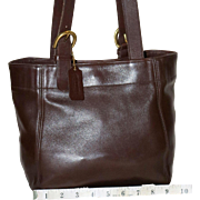 SALE Vintage Coach Buckle Bag Tote U.S. Model