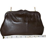 SALE 1950's Andé Convertible Clutch in Calfskin