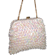 SALE 1950's Mister Ernst Sequined Beaded Clutch