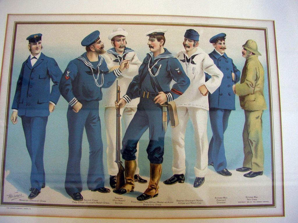 History Of The Navy Uniform 14