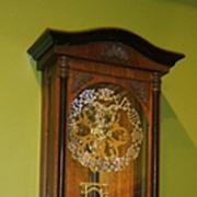 Skeleton Vienna Regulator Clock