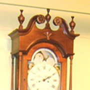 Adam Brant Tall Case Clock, Pennsylvania c. 1800