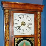 """E.N. Welch Clock Co. """"Star"""" Shelf Clock, ca. 1865"""