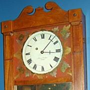 James Corliss Mirror Clock, New Hampshire, ca. 1825