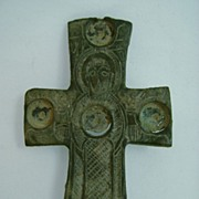 Byzantine Cross with Mary Mother of God, circa 4th-3rd century BC