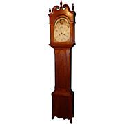 Pennsylvania Cherry Tall Case Clock circa 1815