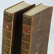 2 Books: Enquiry Concerning Political Justice by William Godwin, 2 Volumes 1796