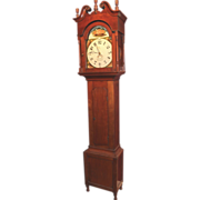 Early 19th c John Solliday Tall Case Clock Somney Town PA