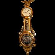 SOLD Lemuel Curtis 8 Day Girandole Clock by Ted Burleigh Jr