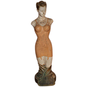 SOLD W-B Foundations Advertising Store Display Figure 1930's