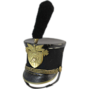 Early 20th c West Point Cadets Parade Hat or Shako