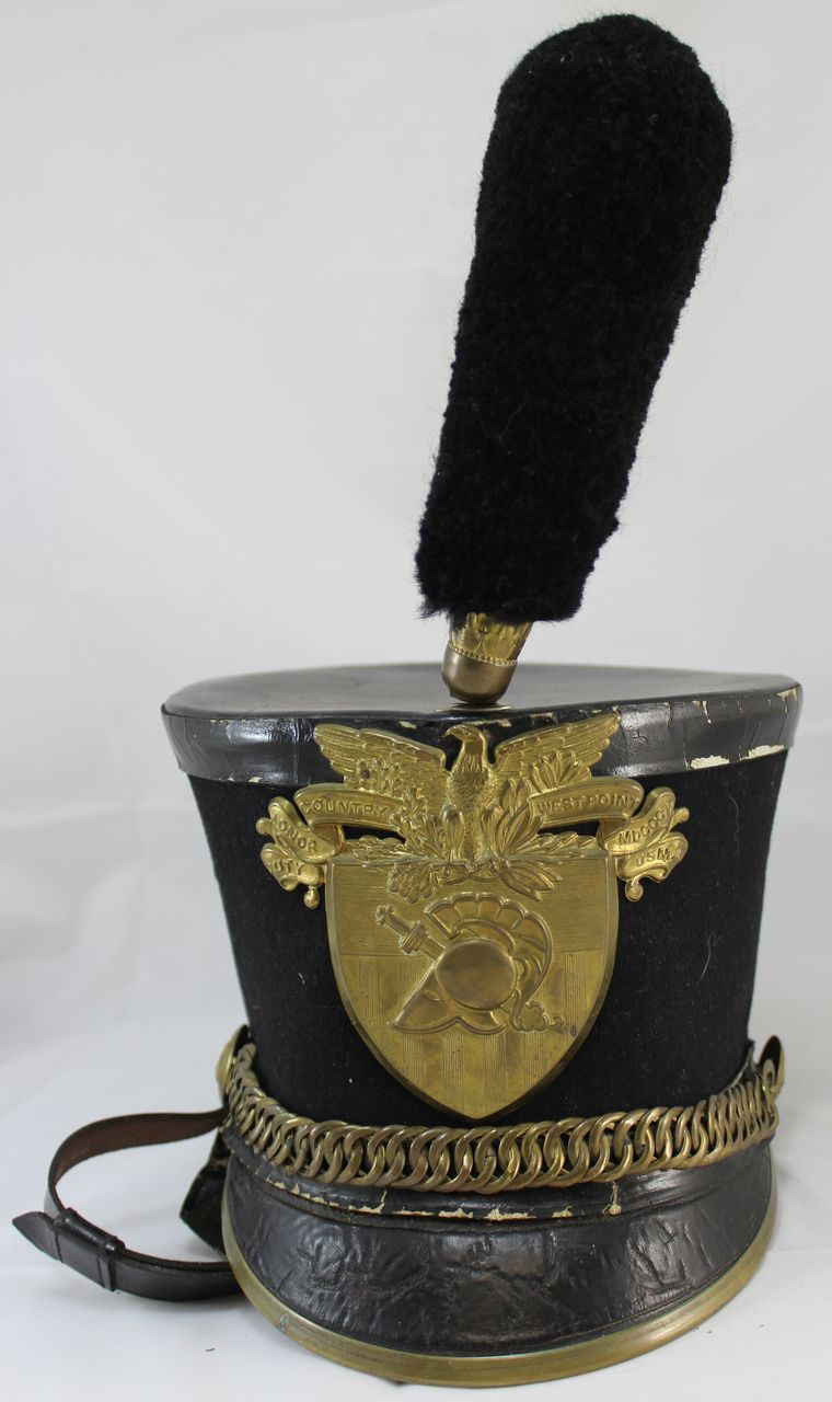 Early 20th C West Point Cadets Parade Hat Or Shako From