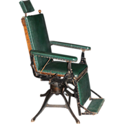 Rare Medical Chair Featured in World's Fair in 1904