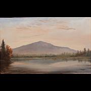 Lauren Sansaricq Oil Painting View of Monadnock Mountain NH