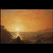 Erik Koeppel Seascape Oil Painting Sunrise on the Coast
