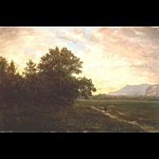 Erik Koeppel White Mountain Oil Painting South Moat and Whitehorse Ledge NH