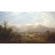 Erik Koeppel White Mountain Landscape Oil Painting Mt. Washington NH
