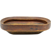 Native American Inuit Eskimo Wooden Food Bowl