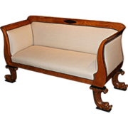 19th Century Biedermeier Settee or Sofa