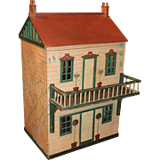 SOLD Large English Wooden Doll House