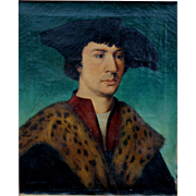 School of Hans Holbein the Younger, 19th c Copy of a Portrait of a Gentleman