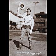 Sepia Tone Singing Cowboy Gene Autry Signed Photograph