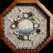 William R. & Judy Davis Sailor's Valentine with Cat Boat