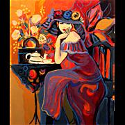 Isaac Maimon Ltd Edition Serigraph - Tea Time 3/190