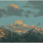 Erick Ingraham Oil Painting Landscape - Where The Clouds Meet The Mountains, CO