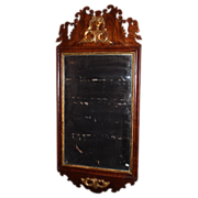 SOLD c. 1780 Chippendale Period Wall Mirror
