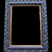 Vintage 80s Ornate Dutch Wooden Frame With Gesso SPECTACULAR!