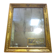 SOLD 19th Century French Antique Empire Style Mirror