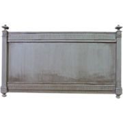 SALE 19th Century French Antique Queen Size Headboard