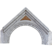 SALE 19th Century French Antique Marble Arch