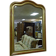 SOLD 19th Century French Antique Louis Philippe Style Gilded Mirror