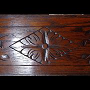 SOLD 19th Century Antique Above The Door Oak Panel