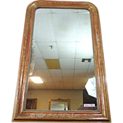 SOLD 19th Century French Antique Louis Philippe Mirror