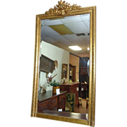 SOLD 19th Century French Antique Gilded Mirror