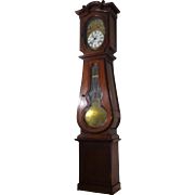 SALE 19th Century Antique French Faux Grandfather Clock Cabinet