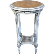 SALE 19th Century Antique French Louis XVI Style Side Table Gueridon