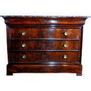 SALE 19th Century Antique Louis Philippe Period Commode