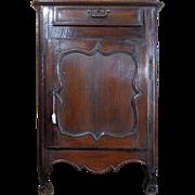 SALE 18th Century Antique French Louis XV Period Walnut Cabinet Confiturier