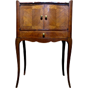 SALE Antique French Louis XV Style Parisian Cabinet