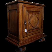 SALE 19th Century Antique French Louis XIV Style Oak Cabinet Confiturier
