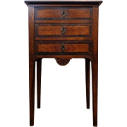 SALE 19th Century Antique French Louis XVI Style Parisian Nightstand