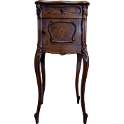 SALE 19th Century Antique French Louis XV Style Walnut Nightstand
