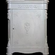 SALE 19th Century Antique French Napoleon III Period Bathroom Cabinet